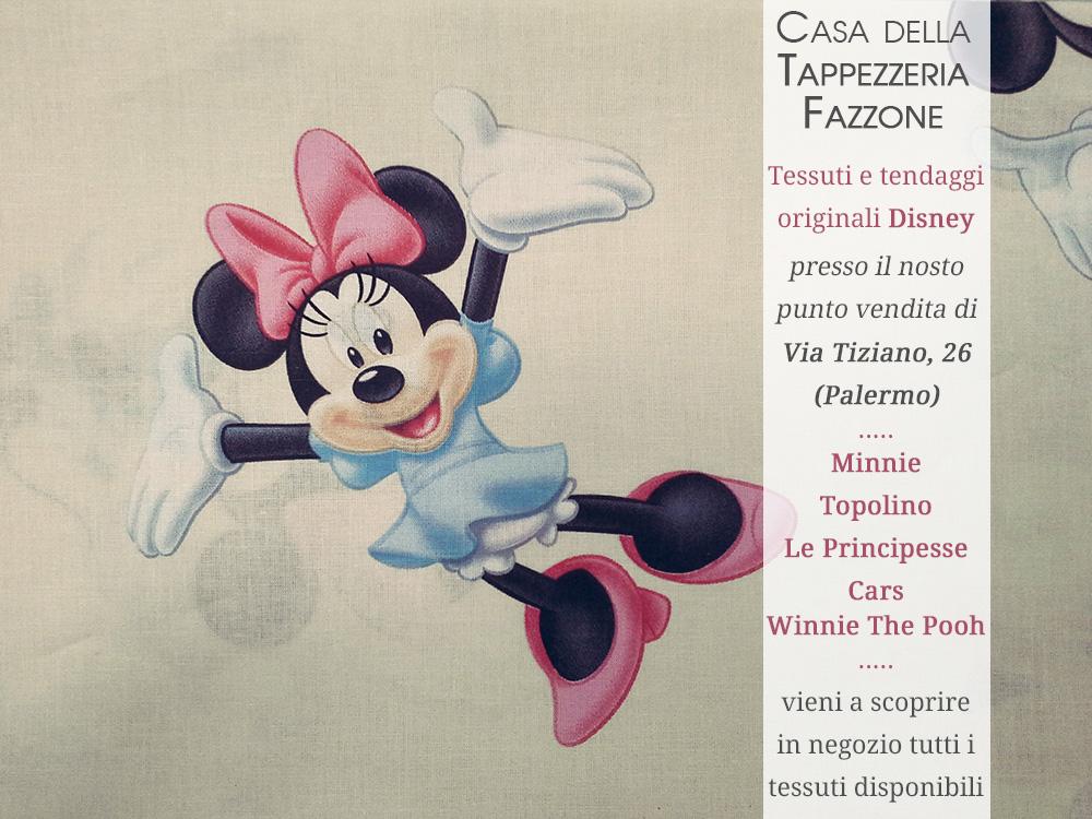 Tenda minnie topolino e winnie the pooh per le camerette - Tendaggi per camerette bambini ...