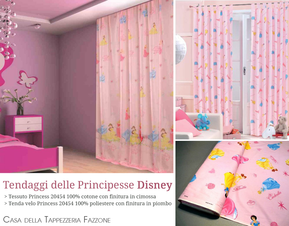 Cameretta Disney Principesse : Tende principesse disney caleffi trapunta invernale frozen magic