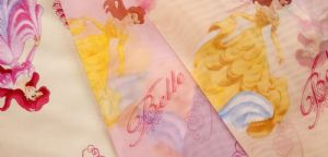 Varie tende velate Princess della Disney